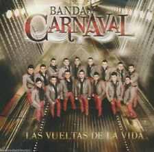 CD - Banda Carnaval NEW Las Vueltas De La Vida Con 10 Canciones FAST SHIPPING !