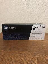 HP 12A Laserjet Ink Toner Cartridge Black New Sealed Q2612A