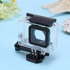 Underwater Waterproof Dive Transparent Stand Housing Case For Gopro Hero 3 4 USA