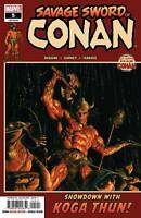 Savage Sword of Conan #5 Marvel Comic 1st Print 2019 unread NM Alex Ross