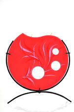 Flachkerze handbemalt Kerze dekorative Flachkerze PM500