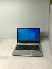"HP Envy Touchsmart Sleekbook 4 Core i5-3317U 1.70GHz 4GB RAM 320GB HDD 14"" *Read"