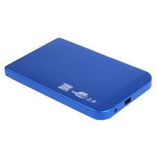 "H3 USB 2.0 2.5"" SATA HDD externes ALU Festplatte Gehäuse"