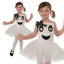 Bébé Beau Ballerine Déguisement Fantôme Halloween Enfant Costume Neuf