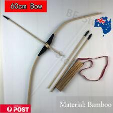Toy Wooden Bow And Arrow Archery Set Kids Children Gift Ourdoor Sport AU