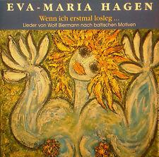 CD EVA-MARIA HAGEN - wenn ich erstmal losleg ...