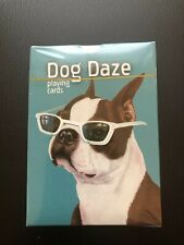 Dog Daze Playing Cards Poker Plastic Coated