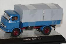 Mercedes LP 911 Pritsche/Plane blau 1:43 Premium Classixxs neu & OVP 12150