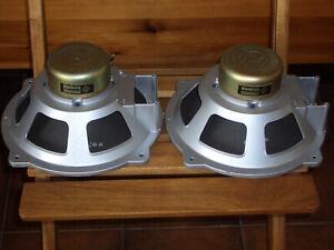 2 x Telefunken Full Range Speaker Ela L8 1262,  24,5 cm. 8 Wat / 3 Ohm. Geprüft.