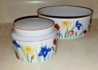 Serving Bowl, Sugar Bowl Prelude Primavera Porcelain Dinnerware by Tienshan