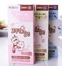 cute frixon erasable ink friction rubber on lid cute kawaii design imported gel
