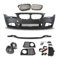 Set for BMW F10 F11 LCI Year 10- >> Sport Look Bumper Front Fog + Kidneys