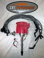 JEEP V8 GM HEI DISTRIBUTOR UPGRADE + PLUG WIRES 290-401 *CRT PERFORMANCE QUALITY