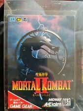 Mortal Kombat Jap. Game Gear