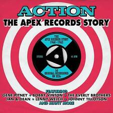 ACTION - THE APEX RECORDS STORY 1960-1962 - 50 ORIGINALS (NEW SEALED 2CD)