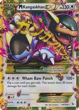 Pokemon XY Flashfire Mega Kangaskhan EX 109/106 Ultra-Rare Rare Card
