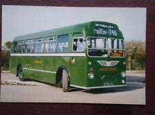 POSTCARD BUS TRAM EASTERN NATION 1960 BRISTOL MW5G BUS