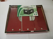 SNAP-N Ablagebox bzw. Transportbox aus stabiler Pappe rot Leitz 6067