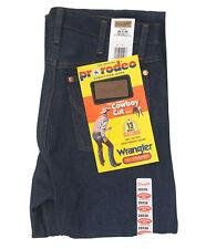 Vintage NOS Wrangler Men's 13MWZ 28x38 Cowboy Cut Original Fit Denim Blue Jeans