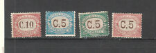 San Marino lot of 4 postage due stamps MH