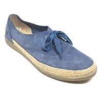 Women's Born Capela Shoes Sneakers Size 8.5M Blue Suede Casual Walking G10