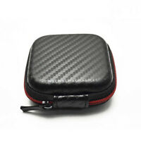 Mini Square Tasche Tasche Aufbewahrungsbox für In-Ear Kopfhörer Headset ec  JMBC