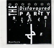 (HM712) The Disfavoured Party, Manifesto - 2014 CD