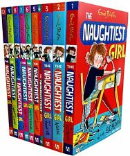 Enid Blyton The Naughtiest Girl Collection 10 Books Set Childrens Gift Pack