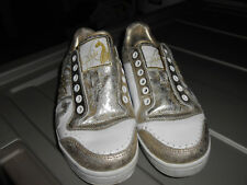 Baby Phat Shoes Ladies Women Size 8.5 Gold White