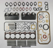 FOR BMW E30 325i 325ix 525i 525e M20 85-91 FULL HEAD SUMP PAN GASKET SET BOLTS