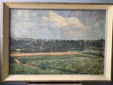 tableau ancien école belge Alfons Dessenis 1874-1952 Gand flandres Wemmel arnet