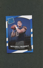 5 2017-18 PANINI DONRUSS RATED ROOKIE PERFECT CARDS FIVE MITCHELL TRUBISKY