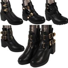 Unbranded Synthetic Clubwear Block Heel Boots for Women