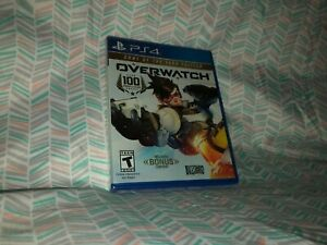 Overwatch: Game of the Year Edition Brand New Factory Sealed Playstation 4