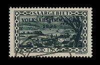 """SARRE / SAAR / SAARGEBIET - 1934 Yv.174 / Mi.180 used """" EPPELBORN """""""