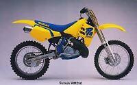 SUZUKI RM250 M 1991 RM 250 > FULL SET SINTERED FRONT & REAR BRAKE PADS *GOLDFREN