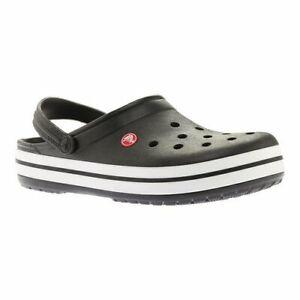 Crocs Crocband Men's Clogs, Black, Size 11
