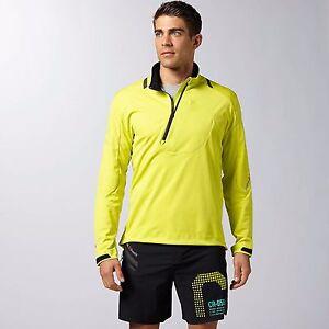 Reebok Crossfit Windstopper Rainstopper Gore Jacket Men's Large L $260 Yellow