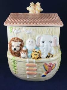 Noah's Ark Cookie Jar Made In China