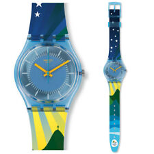 SWATCH POST MAPPA Olympia 2016 Orologio GS147 Analogico Silicone