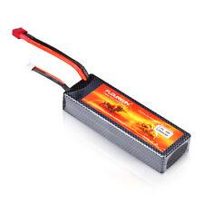 FLOUREON 2S 7.4V 5200mAh 30C LiPo Akku T Plug Batterie für RC Dronhe Auto PKW DE