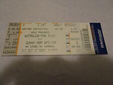 Australian Pink Floyd Show World Tour 2009 Durham Concert Ticket Stub