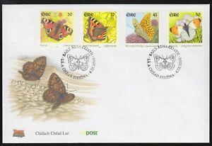 Ireland 2000 FDC Butterflies