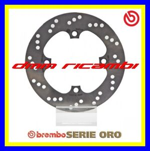 Disco freno posteriore BREMBO serie ORO HONDA VTR 1000 SP1 04>05 RC51 2004 2005