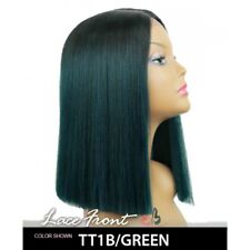 YARA WIG | AUBURN / BLACK / GREEN/BLUE | SYNTHETIC | LACE FRONT WIG | BOBBI BOSS