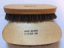 Vintage Empco Shoe Shine Brushes Sterilized 1952 - New/Unused
