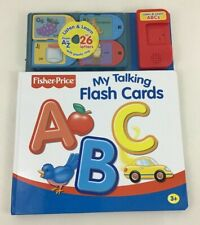Fisher Price My Talking Flash Cards Listen and Learn Kids Interactive Book