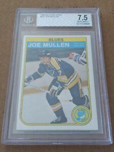 1986-87 O-Pee-chee #307 Joe Mullen Blues Rookie BGS 7.5 NRMT+