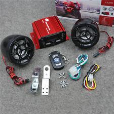 12V FM Motorcycle Sound MP3 Speaker Srereo Radio ATV Fit For Honda Harley Yamaha