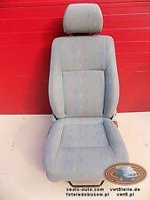 Seat VW T5 Inca front driver comfort adjustments